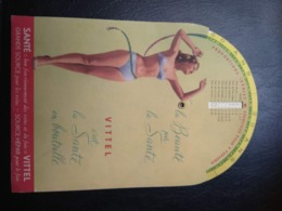 Objet Publicitaire   Vitel   Pour  Calcul  Poids  Taille - Publicité