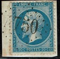 Lot 113  Obliteration GC 4750 Plouzevede   FINISTERE YT22 - Poststempel (Einzelmarken)