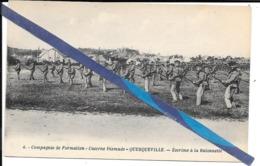Querqueville - Compagnie De Formation - Escrime A La Baionnette  - Non Circulé - Andere Gemeenten