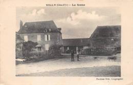 Villy Le Moutier Canton Nuits Saint Georges La Ferme - Altri Comuni