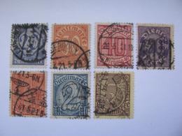 Deutsches Reich  Dienstpost 26- 30 ,32 - 33  O - Service