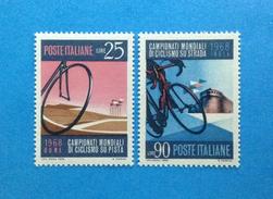 1968 ITALIA FRANCOBOLLI NUOVI STAMPS NEW MNH** CICLISMO - 1961-70:  Nuovi