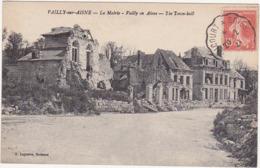 02 - VAILLY-sur-AISNE - La Mairie - Vailly On Aisne - The Town-Hall - 1921 - Altri Comuni