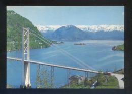 Noruega. Steinsto. *Fyksesund Bridge...* Nueva. - Noruega