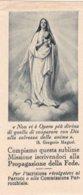 IMMAGINE SACRA PONTIFICIA OPERA PROPAGAZIONE DELLA FEDE 1931 - Religion & Esotérisme