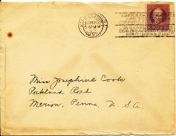 Cuba Cover Sent To USA  5-2-1931 Single Franked - Covers & Documents