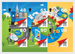 Guernsey 2019 - 50th Anniversary - Postal Independence Miniature Sheet - Guernsey