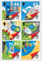 Guernsey 2019 - 50th Anniversary - Postal Independence Stamp Set Mnh - Guernsey