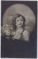 Belle Fille Fillette  1912y. Little Girl Mädchen  .  D048 - Portraits