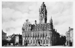 Nederland Zeeland Middelburg  Stadhuis     Echte Foto  Fotokaart   M 64 - Middelburg