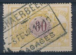 """TR 39 - """"SCHAERBEEK - BAGAGES"""" - (ref. 29.521) - 1895-1913"""