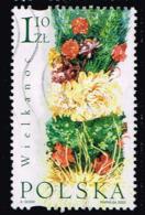 Polen 2002,Michel# 3958 - 3959 O Ostern: Flowers/ Chicken (Gallus Gallus Domesticus) - 1944-.... República