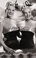 PHOTO POSTCARD Betty Grable And June Haver - Mujeres Famosas