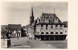 Nederland Noord-Holland  Hoorn   Waaggebouw Kaasmarkt  Fotokaart Echte Foto    M 78 - Hoorn