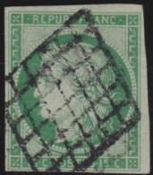 France       .    Yvert    .    2   (2 Scans)      .         O      .      Oblitéré - 1849-1850 Ceres