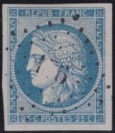 France       .    Yvert    .    4     .         O      .      Oblitéré - 1849-1850 Ceres