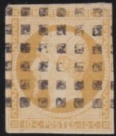 France       .    Yvert    .    13A       .         O      .      Oblitéré - 1853-1860 Napoleone III