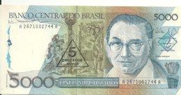 BRESIL 5 CRUZADOS NOVOS ND1989 UNC P 217 A - Brazil