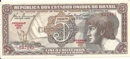 BRESIL 5 CRUZEIROS ND1961-62 UNC P 166 A - Brazil