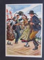 Deutsches Turnfest Breslau 1938 Col. AK - War 1939-45