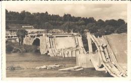 37 .. PONT BOMBARDE LE 22 AOUT 1944 PAR LES ALLEMANDS - Guerre, Militaire