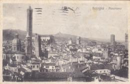 CARTOLINA - BOLOGNA - PANORAMA - VIAGGIATA PER MODENA - Bologna