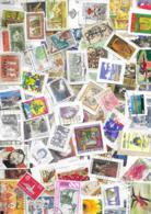 VRAC MONDE DE 350 Grs, Env. 2500 Timbres Sur Frangments. - Briefmarken