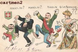 CARICATURE POLITIQUE SATIRIQUE EMMANUELLE III PRESIDENT LOUBET ILLUSTRATEUR NORWINS - Satiriques