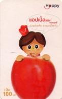 TAILANDIA. Fruits - Apple, 119. 06/2009. TH-Happy-0935-N. (007) - Tailandia