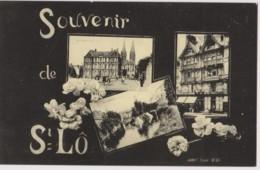 SOUVENIR DE ST LO -  2000 Cartes Pour L'an 2000 - EXPOSITION, CARTOPHILIE, CARTOPHILE  - CPM TBon Etat - Borse E Saloni Del Collezionismo