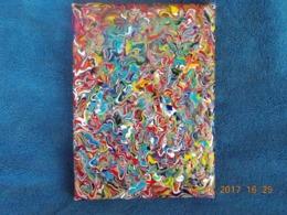 Viktor Tilson (1964-xx) - Artiste Britannique - Titre : AMALGAMATION (Abstraite) - ORIGINALE ! ! - Acrilici