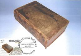 CARTE MAXIMUM - CARTOLINA MAXIMA - MAXIMUM CARD - PORTUGAL - BIBLE DE ALMEIDA - FULL EDITION 1819 - 2019 - Cristianesimo