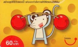 TAILANDIA. HALTEROPHILIA - HALTEROFILIA. Rat -01. 119. 09/2009. TH-Happy-0944-C1-red. (067) - Tailandia