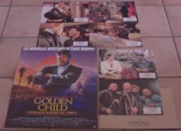 AFFICHE CINEMA ORIGINALE FILM GOLDEN CHILD + 6 PHOTOS EXPLOITATION EDDIE MURPHY Michael RITCHIE 1986 TBE - Posters