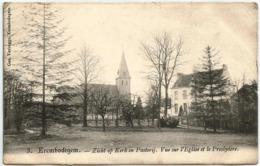 1911 CP Erembodegem Alost Aalst Zicht Op Kerk En Pastorij Vue Sur Eglise Et Presbytère N° 3 - Aalst