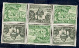 GERMANY1939:Michel SK35 (3pairs In Strip)mnh** Cat.Value$30 - Zusammendrucke