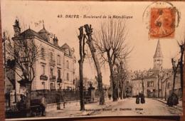 Cpa, Brive, Corrèze, 19, Boulevard De La République, éd Bessot Et Guionie,animée, écrite En 1930 - Brive La Gaillarde