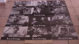 LOT 12 PHOTOS EXPLOITATION FILM LUNE FROIDE NOIR ET BLANC GRAND FORMAT BOUCHITEY STEVENIN 1991 - Photographs