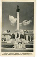 V 10507 - Budapest - Monumento Del Millennium Presso Piazza Degli Eroi - Ungheria