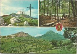 Z5032 Viggiano (Potenza) - Madonna Del Sacro Monte - Panorama Vedute Multipla / Viaggiata 1968 - Other Cities