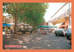 A604 / 473  34 - POMEROLS Esplanade ( Voiture ) - Frankreich