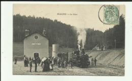 25 - Doubs - Maiche - La Gare - Train à Quai - Voyageurs - Tacot - Tramway - R.F.C. - Frankrijk
