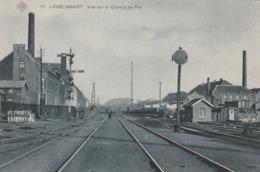 Lodelinsart. Vue Du Chemin De Fer.--S.B.P.  Scan - Andere
