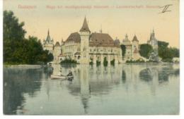 V 10510 - Budapest - Landwirtschaftl Museum - Ungheria