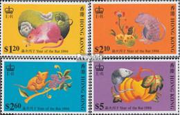 Hongkong 757-760 (kompl.Ausg.) Postfrisch 1996 Chinesisches Neujahr - Nuevos