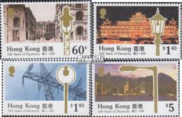 Hongkong 595-598 (kompl.Ausg.) Postfrisch 1990 100 Jahre Elektrizität - Nuevos