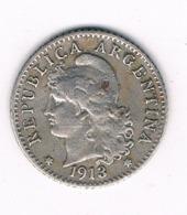 5 CENTAVOS 1913 ARGENTINIE /8371/ - Argentinië