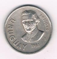 10 PESOS 1981 URUGUAY /8375/ - Uruguay