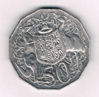 50 CENTS 2008  AUSTRALIE /8378/ - Monnaie Décimale (1966-...)