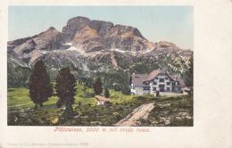 Plätzwiese (Prato Piazza) * Mit Croda Rossa, Berghütte, Südtirol, Alpen * Italien * AK1701 - Bolzano